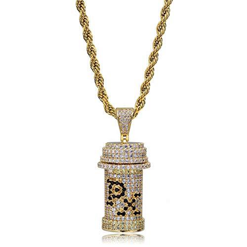 LC8 Jewelry Hip Hop PX Design Z - Soporte píldoras