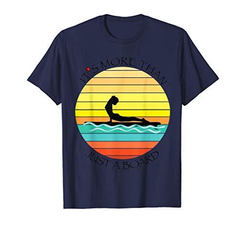 Yoga SUP Girl Paddle Sports Nautiques T-Shirt