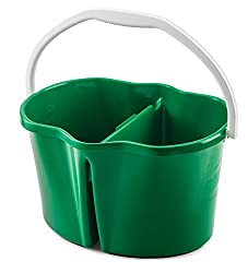 Best home cleaning products: divided bucket for bathroom cleaning