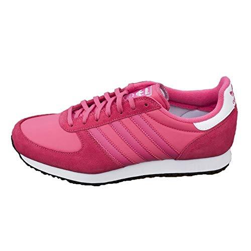 adidas ZX Racer W, Zapatillas de Deporte para Mujer, Azul/Rojo/Blanco (Rosexu/Rossua/Ftwbla), 37 1/3 EU