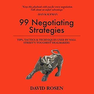 99 Negotiating Strategies audiobook cover art