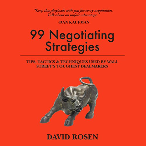 99 Negotiating Strategies audiobook cover art