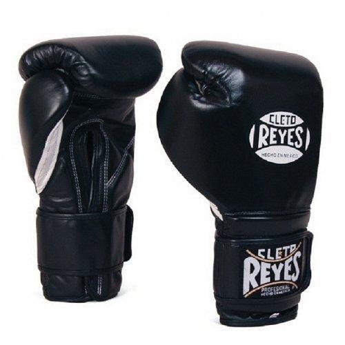 Cleto Reyes Sparring Boxhandschuhe, Schwarz