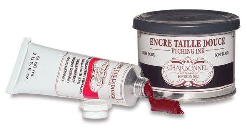 Tinta Para Gravura em Metal Charbonnel 200 ml Preto S1 331068