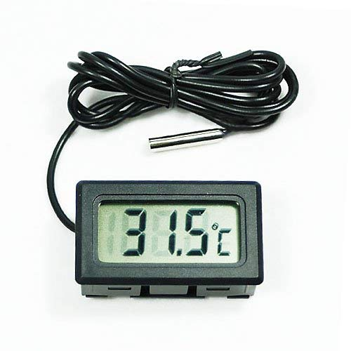 Ogquaton Aquarium LCD Digital Thermometer Fisch Tank Wasser