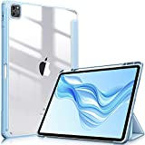 FINTIE Coque pour iPad Pro 12.9 Pouces (5ème Gén 2021) - [Rangement et Recharge de Pencil] Housse...
