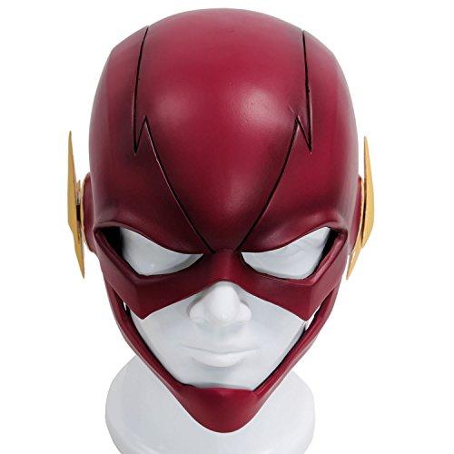 Xcoser Halloween Carnaval Masques Cosplay Casque PVC Rouge Tête Pleine Masque pour Adultes Jouets