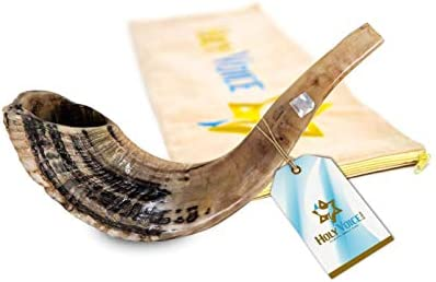 Handcrafted Kosher Ram Shofar from Israel Musical Horn with Shofar Bag Decorative Functional product image