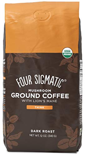 Four Sigmatic Mushroom Ground Coffee, Lion's Mane, 12 Ounce