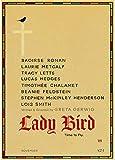 Lady Bird Movie Greta Gerwig Film Saoirse Rona Movie Posters Arte De La Pared Decoración De La Habitación del Hogar Impermeable Y Duradero HD 50 * 70 Cm Lienzo Sin Marco Póster