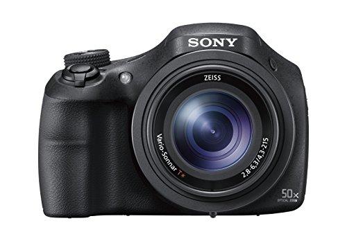 Sony DSC-HX350 Digital Compact Bridge Camera with 50x Optical Zoom - Black