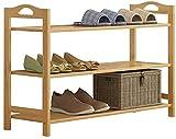Zapato de bambú Puerta de múltiples Capas Económica Madera Simple Hogar Saber Pasaje Corredor Zapato Dormitorio 55x26x60cm
