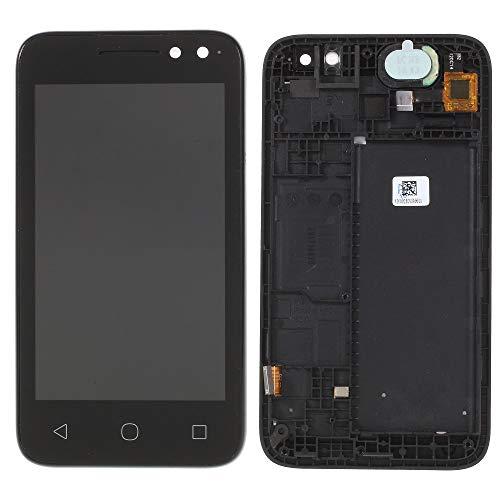 MOVILSTORE Pantalla Completa LCD + Tactil + Marco Compatible con Alcatel U3 4049D Negro