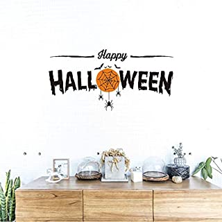 Wuyyii Removable Art Vinyl Mural Home Room Decor Wall Stickers Wallpaper Halloween Decoration Wall Pictures On The Wall