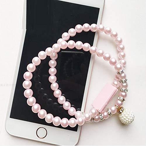 George zhang Damen Kreative Halskette-Daten-Kabel-Armband-Ladekabel-Korn-Strickjacke-Kette Anwendbar Apple Android Net Red Schmuck