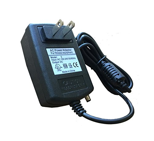 AC Power Supply Power Adapter, Compatible with Nautilus R514 R514C R614 R616 R618 Recumbent Bikes