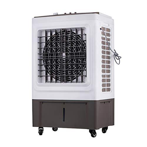 Refrigerador de Aire evaporativo portátil 3 en 1 con Funciones de Ventilador, humidificador Industrial y purificador de Aire, 45 litros, L60xW43xH100cm