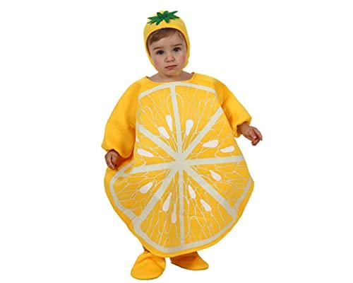 ATOSA disfraz limon nia beb 0 a 6 meses