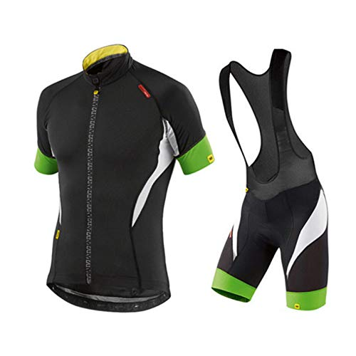 Unisex Mode Fietskleding Set Fietsshirt Met Korte Mouwen en Fietsbroek voor MTB en Racefiets