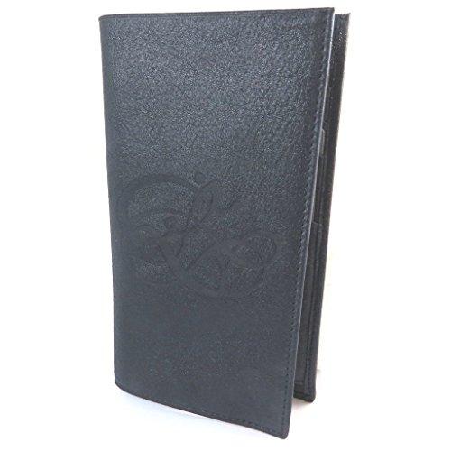 Les Trésors De Lily Les Trésors De Lily [N8919] - Halter prickelnde Leder scheckbuch 'Les Trésors De Lily' Navy - 19x11 cm.