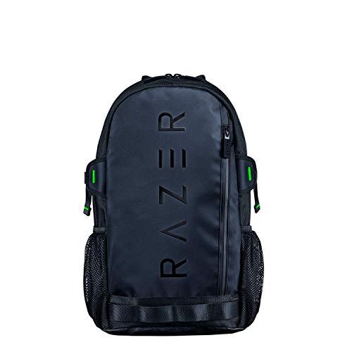 """Razer Rogue V3 Backpack (13,3\"""") Black Edition - Kompakter Reise Rucksack (Fach für Laptop bis 13 Zoll, Abriebfest, Außenhülle aus Polyester) Schwarz"""
