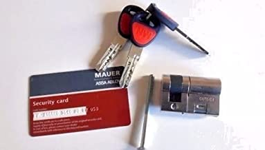 MAUER NW6 ASGARD (Assa Abloy) ./High Security Single Cylinder Garage Door Lock./Size 36mm/9mm