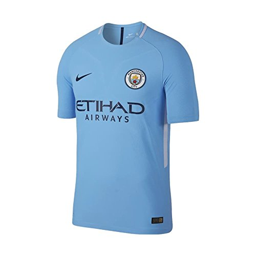 NIKE Manchester City Vapor Match - Camiseta para Hombre (2017/2018), diseño de Manchester City, Hombre, 847197-489, Azul, XL