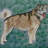 Alaskan Malamute Dog Decorative Ceramic Wall Art Tile
