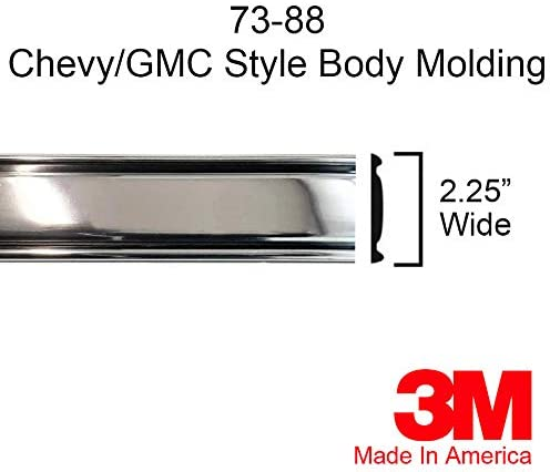 Autmotive Authority 1973-1987 Product OFFicial site Chevy GMC Mo Trim Chrome Side Body