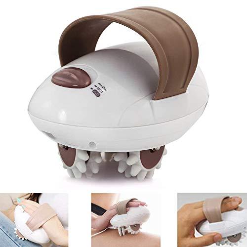 FMJHCW 2020 Nuevo masajeador 3D para Dar Forma al Cuerpo del Rodillo, Mini masajeador eléctrico de Mano para Todo el Cuerpo, para Cara, Brazo, Mano, Cuello, pie y Cuerpo (Enchufe del Reino Unido)