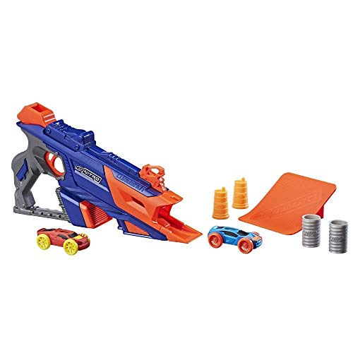Nerf-HAS-C0784-AS00 Zombie Ner Nitro Longshot Smash, Multicolor (Hasbro C0784)