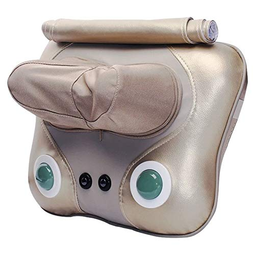 Neck and Back Massage Pillow Deep Tissue Kneading Massager Can Relieve Shoulder Neck Waist and Foot Muscle Pain is The Best Relaxing Gift for Home Cars and Offices