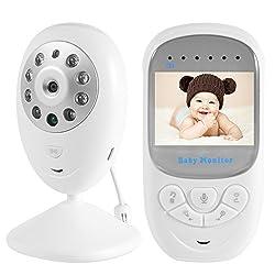"""XCSOURCE® 2,4"""" LCD-Digital drahtloser Baby Monitor Kamera Audio Video Baby Nachtsicht wireless Monitor Bunte Anzeige HS692"""