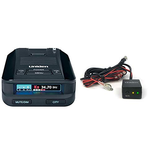New Uniden DFR8 Super Long Range Laser and Radar Detection & RDA-HDWKT Radar Detector Smart Hardwire...