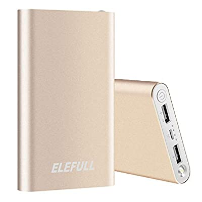 Power Bank 10000mAh Portable Charger for Mobile Phone External Battery Case Quick Charge Mobile Phone Pad Sam_Sung_Galaxy_Huawei_LG, Camera DV etc.