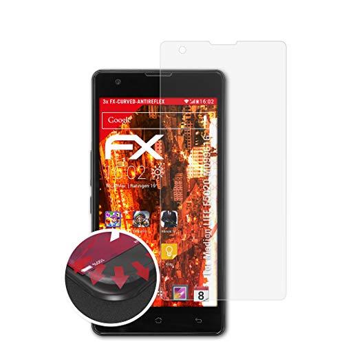 atFolix Schutzfolie kompatibel mit Medion Life E5020 MD99616 Folie, entspiegelnde & Flexible FX Bildschirmschutzfolie (3X)