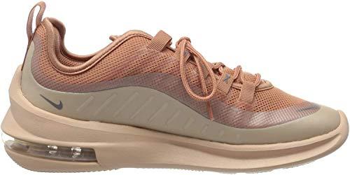 Nike Wmns Air MAX Axis, Zapatillas de Entrenamiento para Mujer, Multicolor (Terra Blush/Mtlc Cool Grey/Bio Beige 201), 37.5 EU