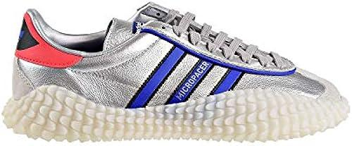 adidas Herren Counrty X Kamanda Silber Metallic Blau Rot