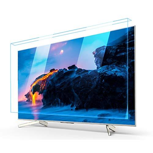 ASPZQ Protector Tipo Colgante Filtro de Luz Azul Acrílico para Todos Los Tamaños Televisores Marca Antiarañazos/A Prueba Explosiones/Anticolisión