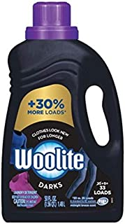 Woolite Dark Care Laundry Detergent, Midnight Breeze Scent, 50 Fl Oz/ 33 Loads