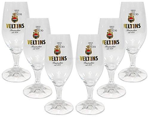 Veltins Glas Bierglas Tulpen Gläser 4x...