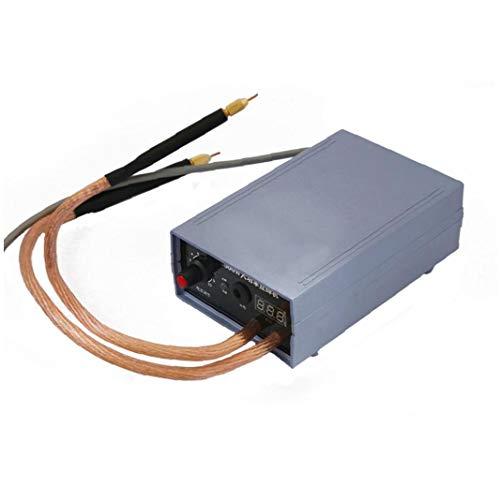 Canjerusof Batería soldadora por Puntos Kit 5000W de Alta Potencia del Punto Soldador portátil Ajustable del Punto de Soldadura Herramientas MachinePower
