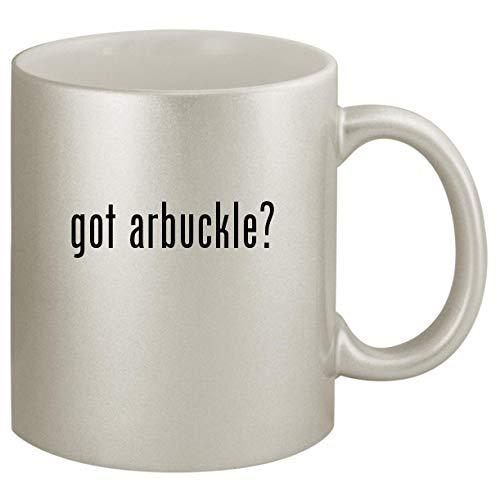 got arbuckle? - Ceramic 11oz Silver Coffee Mug, Silver