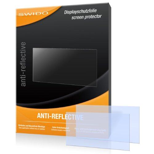 SWIDO X064985 Anti-reflektierende hartbeschichtet Displayschutzfolie für Garmin zumo 660LM/660-LM (2-er Pack)