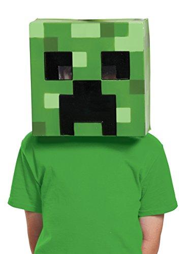 Creeper Minecraft Child Mask