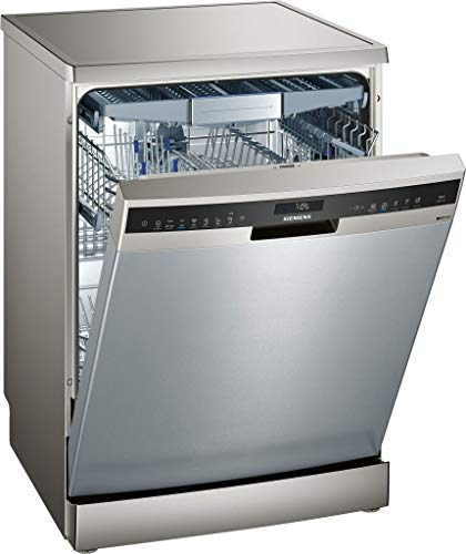 Siemens iQ500 SN258I01TE 14cubiertos A+++ lavavajilla - Lavavajillas (Acero inoxidable, Tamaño completo (60 cm), Acero inoxidable, Tocar, 1,75 m, 1,65 m)