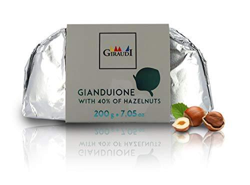Giraudi Gianduione Fondente, 200 grammi, linea Gianduiotti