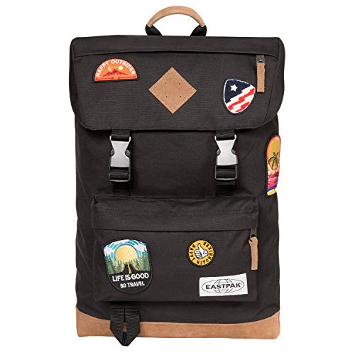 Eastpak Rowlo Laptop Backpack One Size Into Patch Black