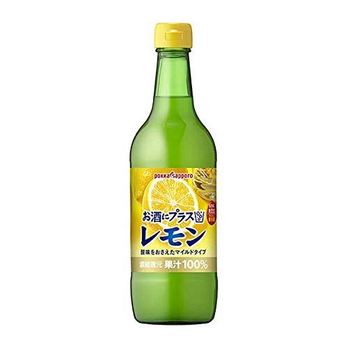 ポッカサッポロ お酒にプラスレモン [瓶] 540ml x 12本 [ケース販売][ポッカサッポロ/GT37]