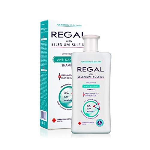 Regal, Anti-Schuppen-Shampoo mit Selenium Sulfide, für normales bis fettiges Haar